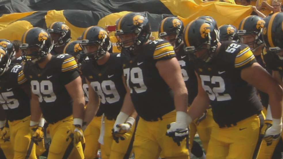 Kickoff times, networks announced for some Iowa football