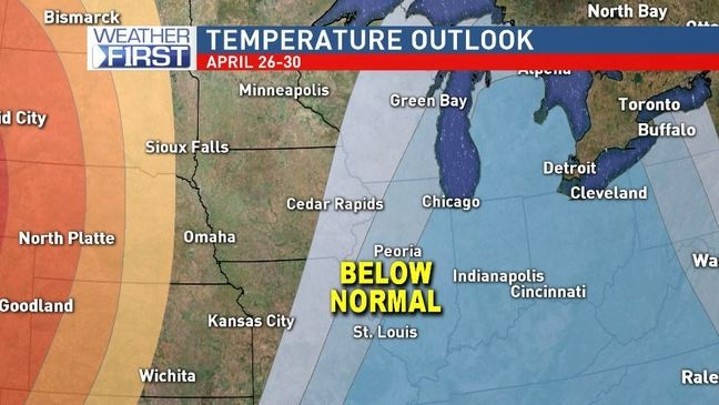 April's chill to finally loosen its grip on eastern Iowa | KGAN