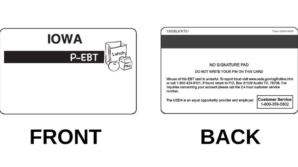 Iowa Dhr To Send Ebt Cards To Students Kgan